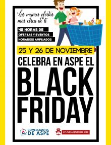¡Black Friday en Aspe!