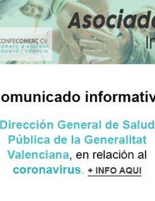 Comunicado Informativo – Coronavirus