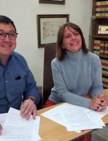 Esta mañana hemos firmado el nuevo convenio con el ayuntamiento
