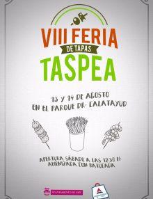 El 13 y 14 de Agosto Feria TASPEA, la feria de la tapa de Aspe.