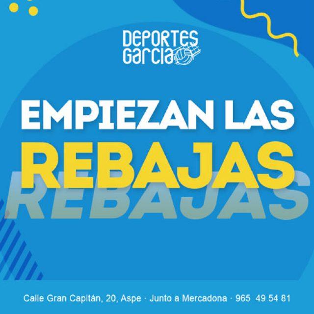 REBAJAS – Deportes García