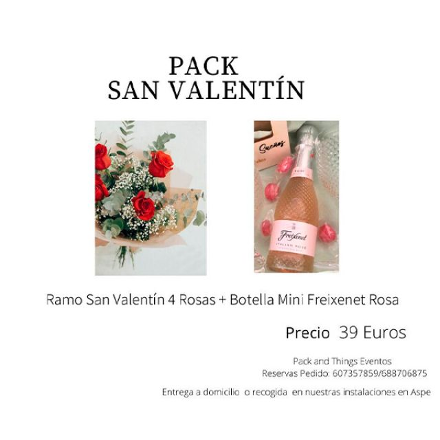 Detalles de San Valentín en Packandthings