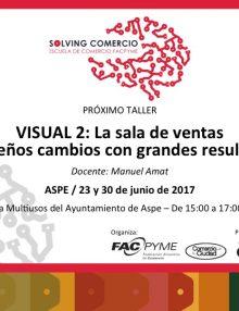 Esta tarde empieza el curso Visual II