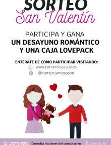 Ganadores del Sorteo de San Valentín