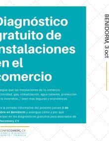 Diagnóstico gratuito de instalaciones en el comercio para asociados