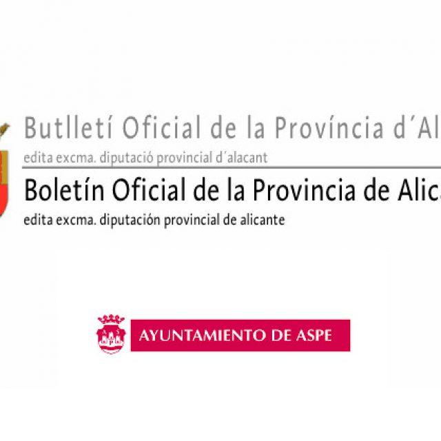 Ayudas para la contratación de desempleados – Boletín Oficial de la Provincia de Alicante