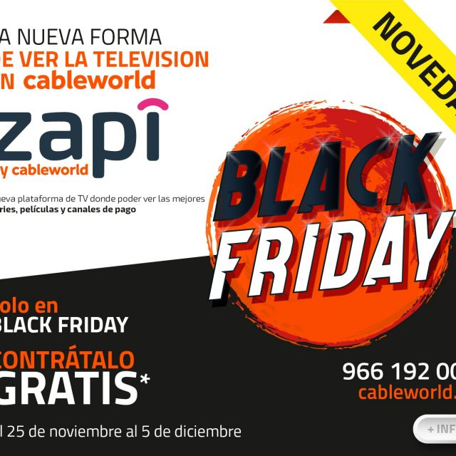 BLACK FRIDAY – CABLEWORLD