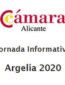 Cámara Alicante – Jornada Informativa: Argelia 2020
