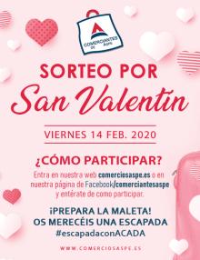 Ponemos en marcha la campaña de San Valentín 2020 ¡Prepara la maleta! Os merecéis una #escapadaconACADA