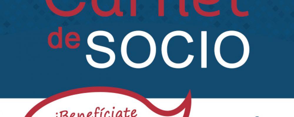 Presentamos el Carnet de Socio para los comercios asociados