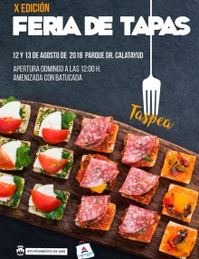 """Feria de Tapas de Aspe """"TASPEA 2018"""""""