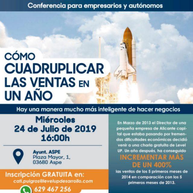 Nueva Conferencia Gratuita para Autónomos y PYMES