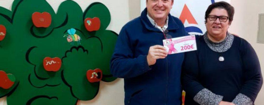 Entrega de los fondos recaudados  – CAMPAÑA DE COLABORACIÓN MACMA