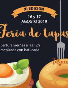 SE AMPLIA EL PLAZO DE INSCRIPCIONES – Participación XI Edición Feria de Tapas Aspe 2019
