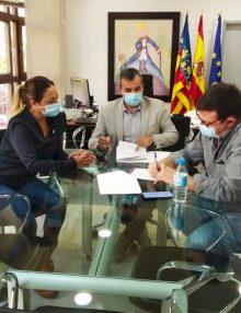 El Ayuntamiento de Aspe firma el convenio con la Asociación de Comerciantes y Afines