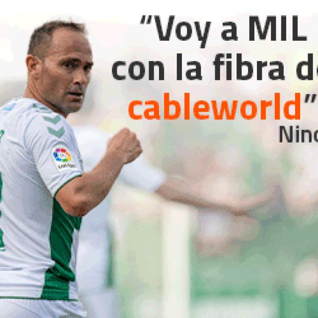 LA FIBRA DE 1000MB MÁS RÁPIDA ESTÁ EN CABLEWORLD