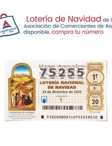 DISPONEMOS DE LOTERIA DE NAVIDAD