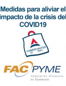 Medidas para aliviar el impacto de la crisis del COVID19 – InfoFacpyme