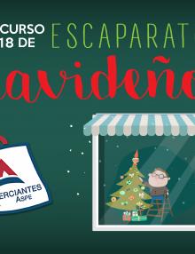 COMIENZA EL CONCURSO DE ESCAPARATES NAVIDEÑOS 2018