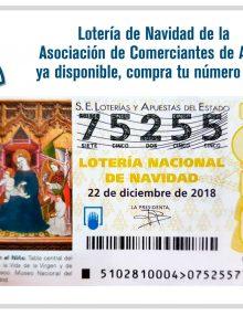 Nuestro número de Lotería de Navidad nº75255