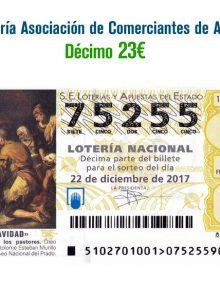 Ya contamos con la Lotería de Navidad nº75255