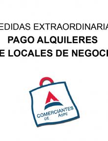Medidas extraordinarias para el pago de alquileres de locales de negocio