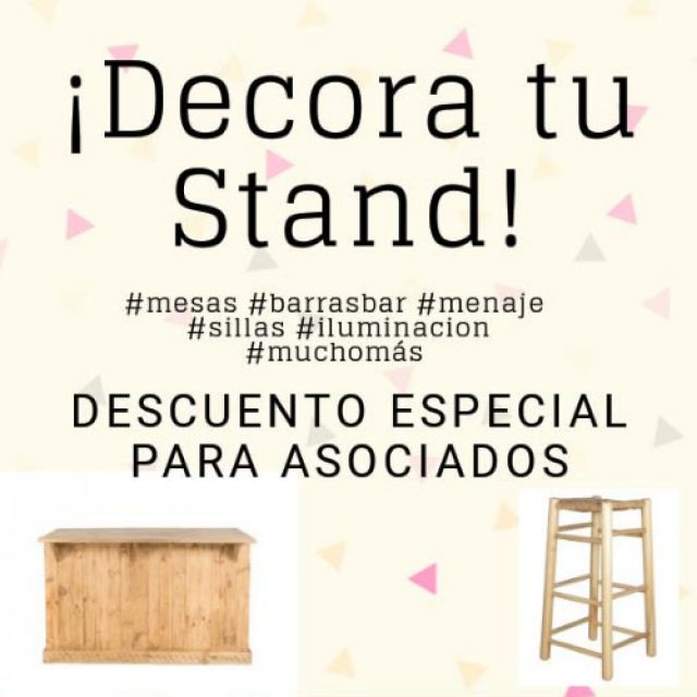 DECORA TU STAND – Packandthings