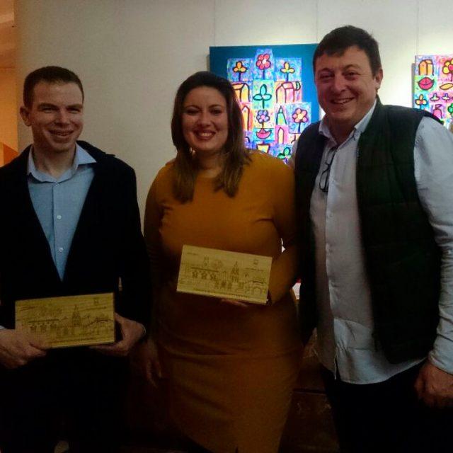 Socios premiados en el programa Aspe Emprende