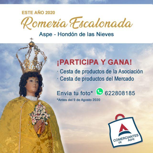 Participantes Romería Escalonada de la Virgen de las Nieves