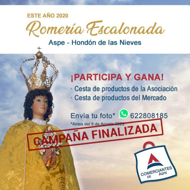 Publicamos Ganador/a – Participantes Romería Escalonada de la Virgen de las Nieves