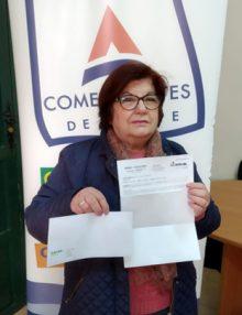 Hacemos entrega del premio de la Campaña San Valentín #escapadaconACADA