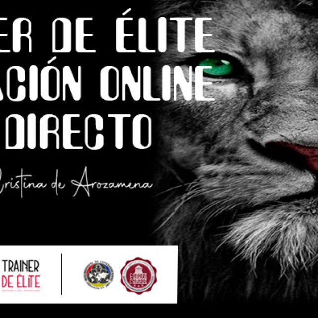 Coaching trainer de élite formación online en directo-22, 23, 26 y 27 de julio