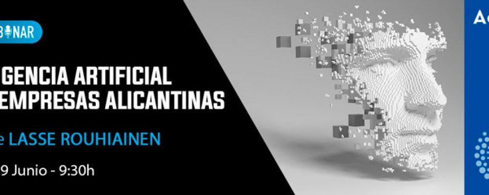 29 JUN | Webinar: Inteligencia artificial para empresas alicantinas