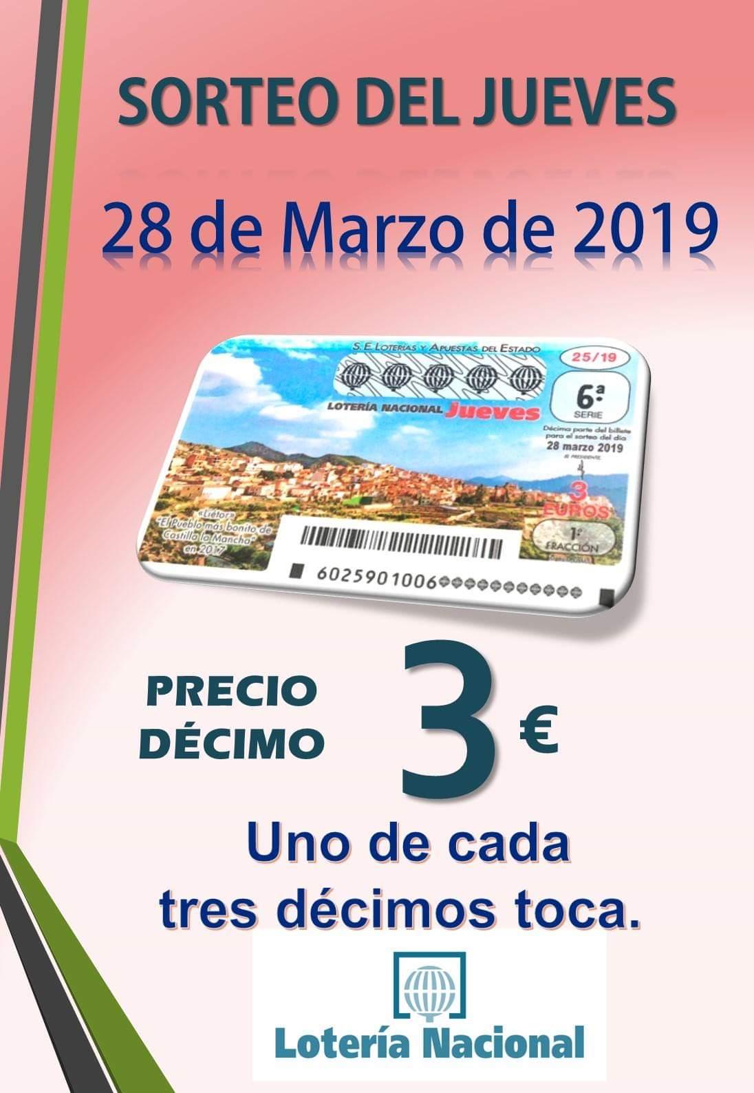 96def90cdf4 AHORA LOS JUEVES MAS PREMIOS, DECIMOS A 3€ - Administración de ...
